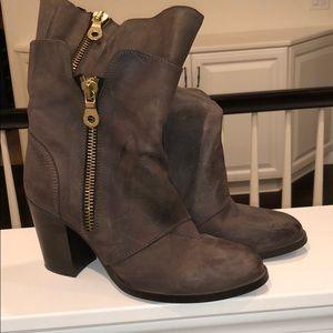 Fabrizio Chini brown leather boot